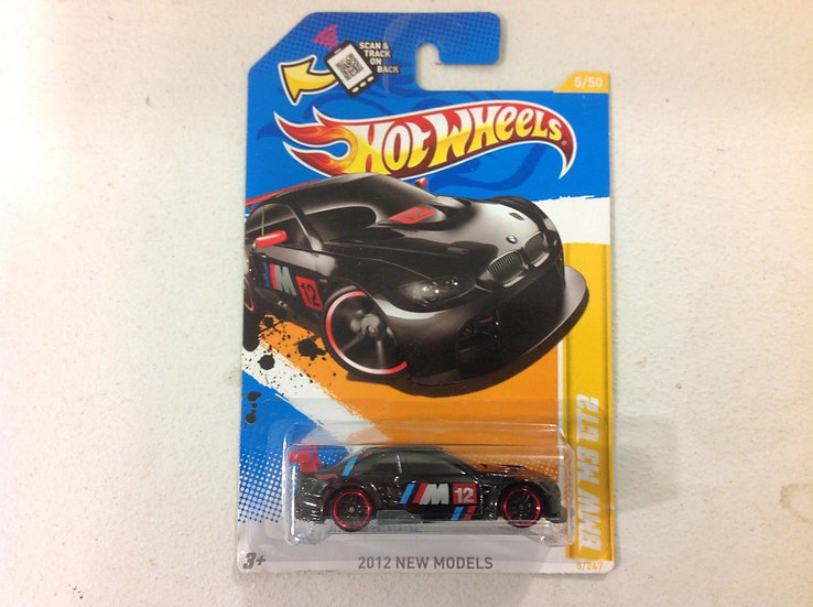 Hot Wheels BMW M3 GT2 BLACK  2012  5/247