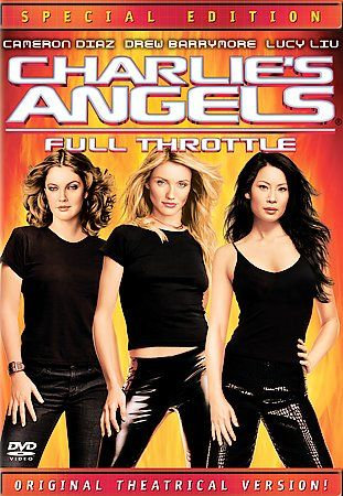 NEW Charlie's Angels: Full Throttle (DVD, 2003, Special Edition)