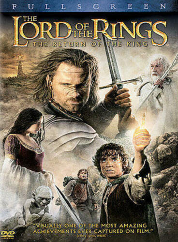 USED-The Lord of the Rings: The Return of the King (DVD, 2-Disc Set, Widescreen)