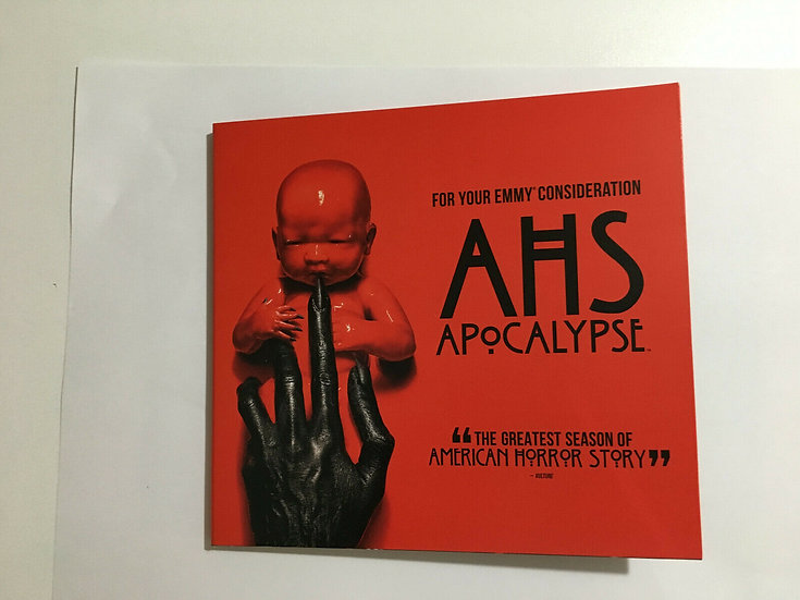 FYC 2019 AHS American Horror Story Apocalypse (DVD 1 disc 2 episodes )FX