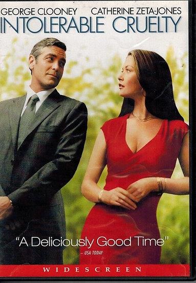 USED Intolerable Cruelty (DVD) Widescreen George Clooney Catherine Zeta-Jones