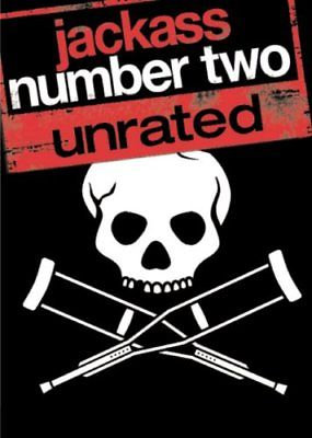 Jackass: Number Two (DVD, 2006, Unrated Widescreen Version Region 1)