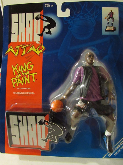 NEW Shaq Attaq King of the Paint Action Figure 1993