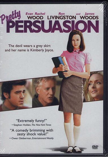Pretty Persuasion (DVD, 2005) Evan Rachel Wood Ron Livingston