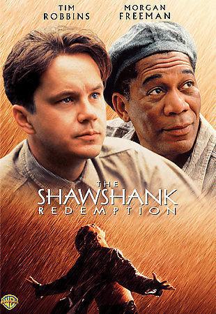 The Shawshank Redemption DVD Tim Robbins and Morgan Freeman
