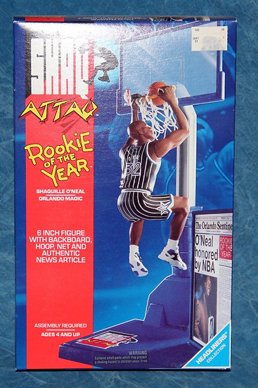 NIB Shaq Attaq Rookie of the Year 1993