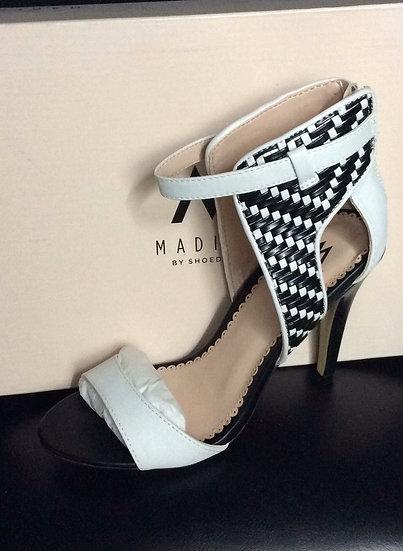 NIB Madison by Shoedazzle  Style: ZADA  Color: White/Black  Size: 7 US
