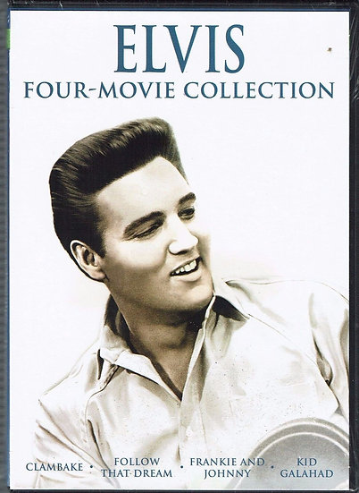 Elvis Four-Movie Collection (DVD 2009)  Clambare/Follow the Dream/Franki
