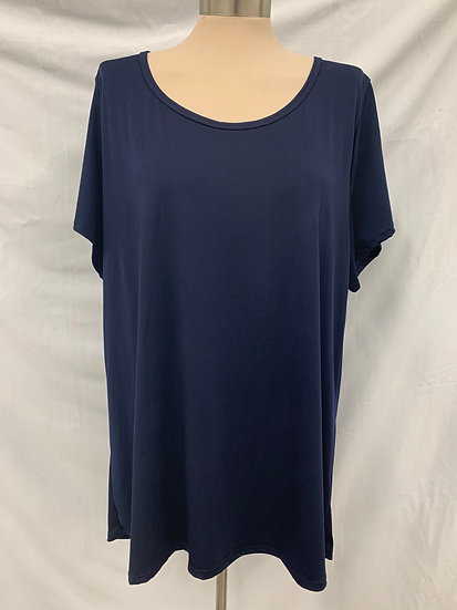 LuLaRoe Dark Blue 3XL Pullover Top Shirt