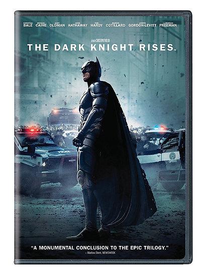 The Dark Knight Rises (DVD, 2012 widescreen) Christian Bale, Michael Caine