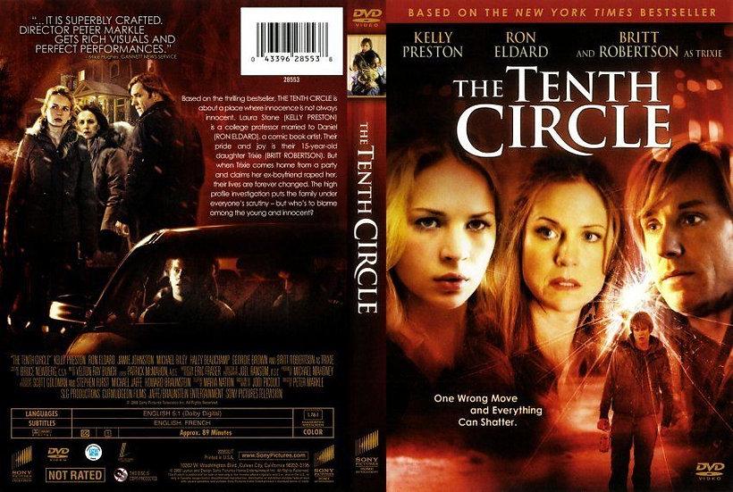 The Tenth Circle (DVD 2009)  Kelly Preston/Ron Eldard/Britt Robertson