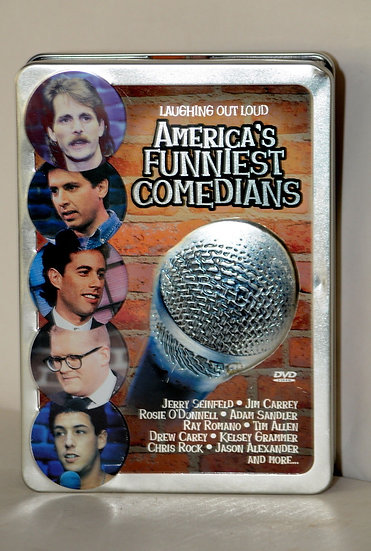 America's Funniest Commedians (DVD 5 disc Fullscreen) in Tin  Jerry Seinfield/Ji