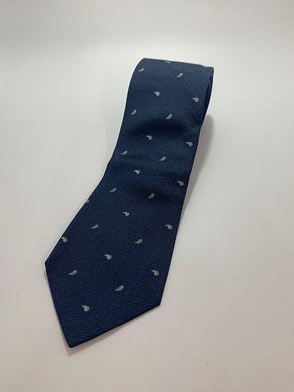 """100% Silk Tie Shanghai Silk Research Institute Vintage 52 1/2"""""""