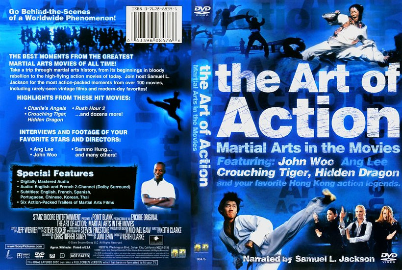 The Art of Action (DVD, 2002) RARE TV DOCUMENTARY  John Woo/Ang Woo/Sammo Hung
