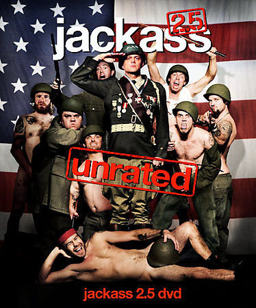 Jackass 2.5 unrated DVD