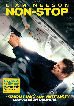 NON-STOP ( DVD, 2014) Liam Neeson-in slip case