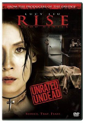 Rise: The Blood Hunter-Unrated Undead (DVD, 2007) Lucy Liu