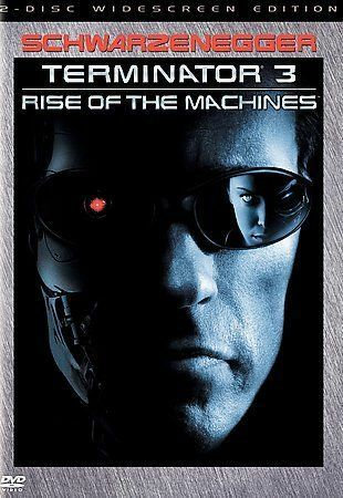 Terminator 3 Rise of the Machines DVD 2003 Widescreen