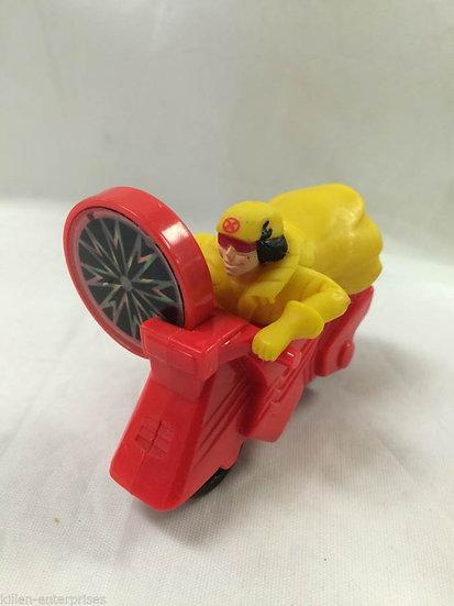 Vintage Jubile #4 McDonalds Happy Meal Marvel Super Hero Vehicle 1996