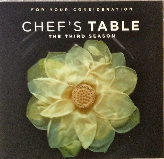 2 FYC 2017 Chef's Table Season's 3 & 4-Netfl