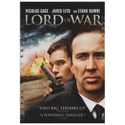 Lord of War (DVD, 2005 Widescreen) Brand New Nicolas Cage/Jared Leto