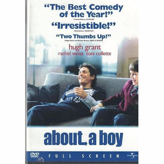 About a Boy (DVD, 2002, Fullscreen) Hugh Grant