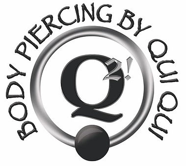 Body Piercing by Qui Qui Logo