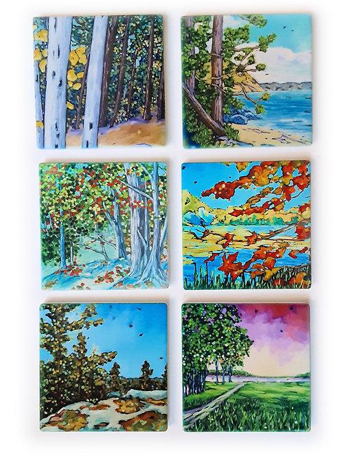 Seasons Coasters