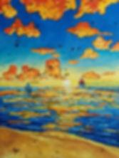 Scott Pranger Commission Painting Christ