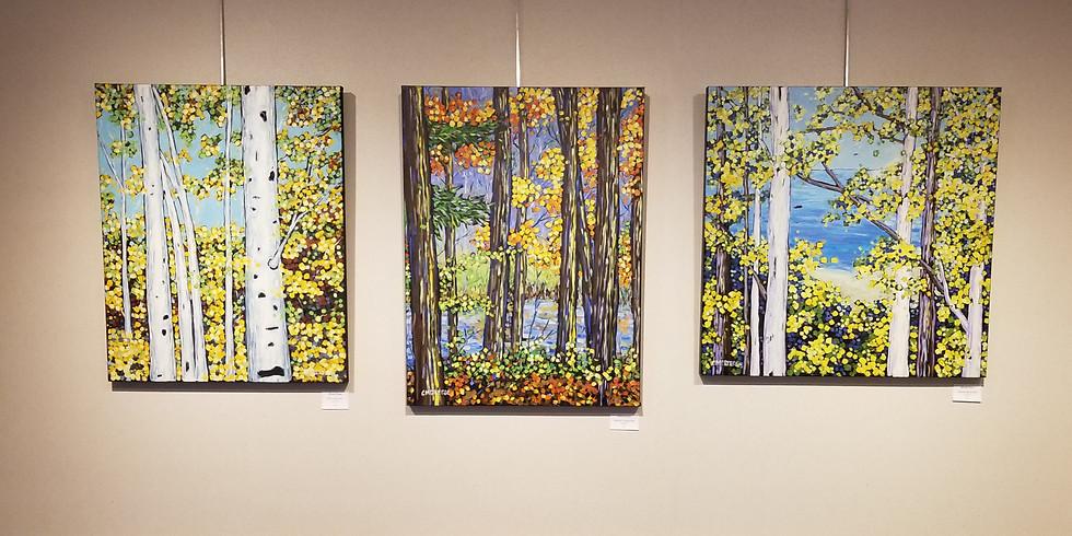 Live in Color:  A collection of oil and abstract paintings by Christi Dreese.