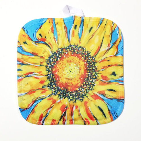 Sunflower Pot Holder