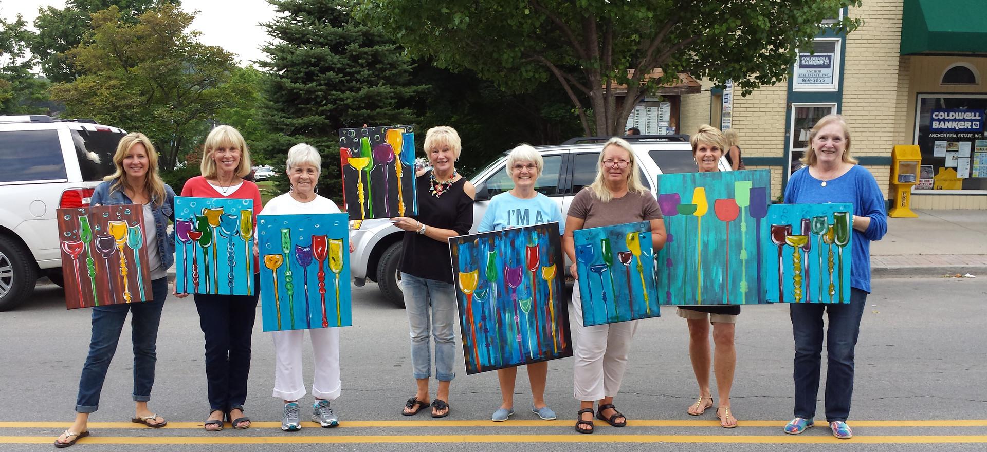 Pentwater Paint Class