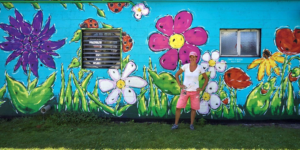 Art in the Park - Mural Reception