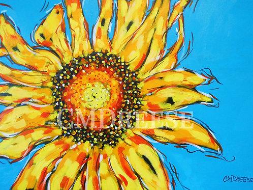 """Sunflower"" Print"