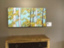 Detroit Senior Living Center birch trees