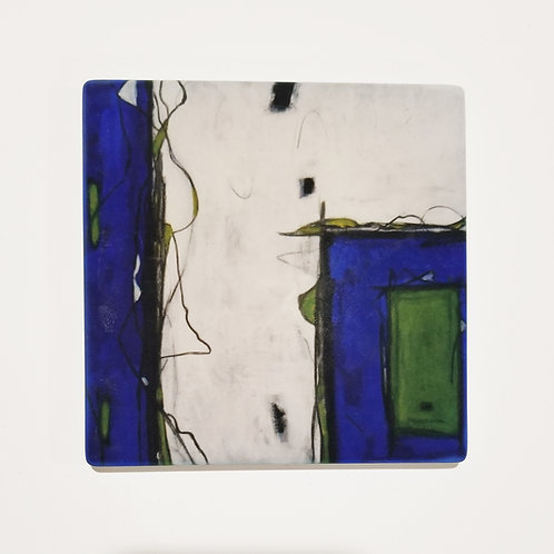 Lost & Found Abstract Coaster and Pot Holder
