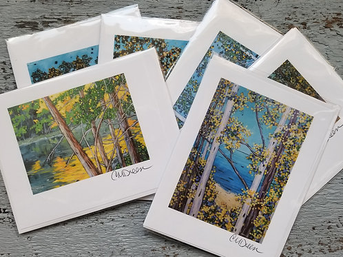 Fall Notecards Signed by Christi Dreese
