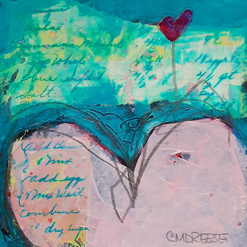 Spreading the Love Heart V Series Print