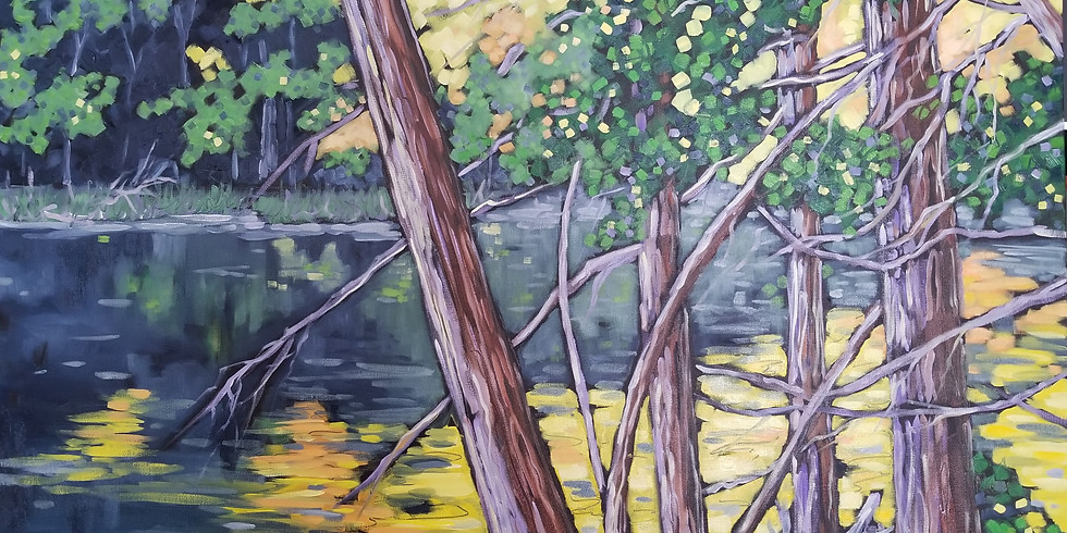 """Artist Reception """"Live in Color: Paintings by Christi Dreese."""