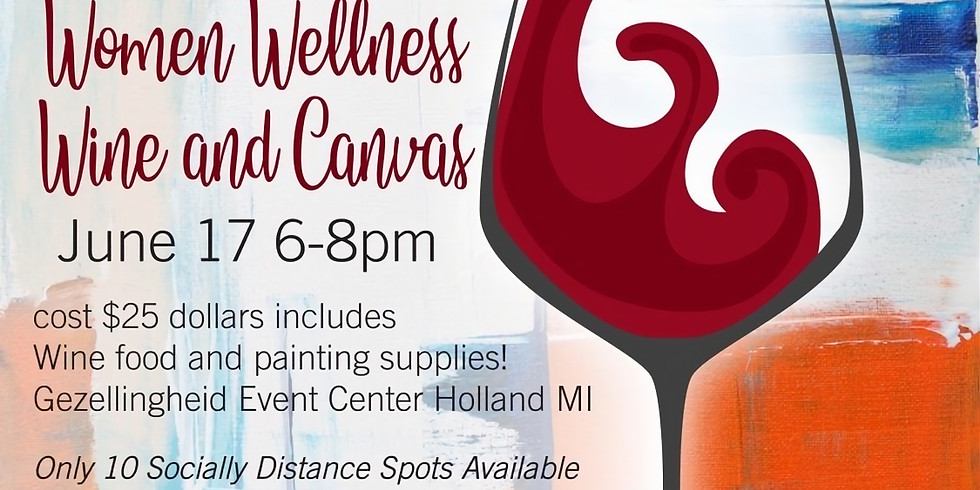 Women Wellness, Wine & Canvas