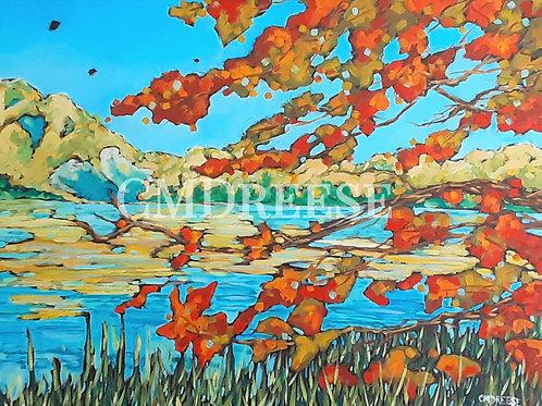 """Change is Beautiful"" Autumn Print"