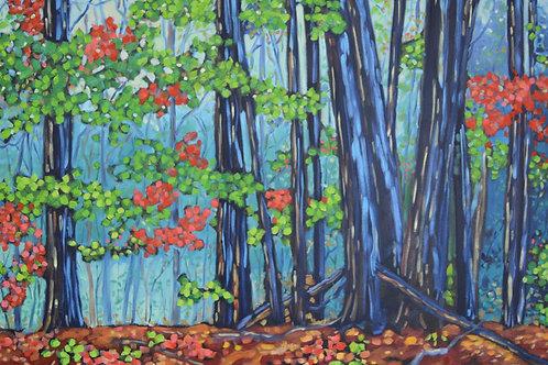 """""""Hemlock Crossings"""" Original Oil Painting on Canvas"""