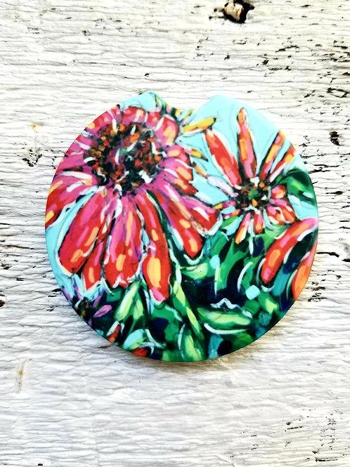 Flower Car Coasters