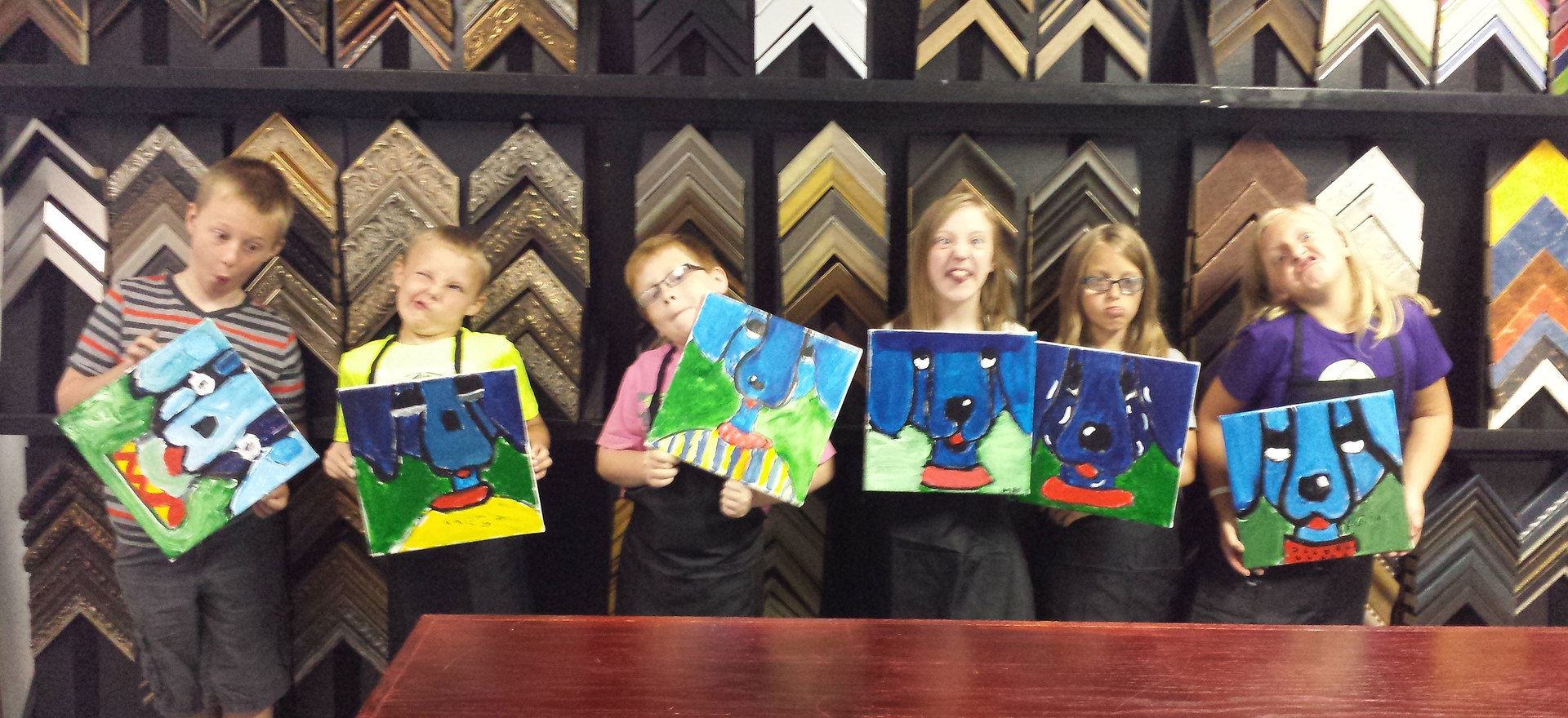 Children Paint Class