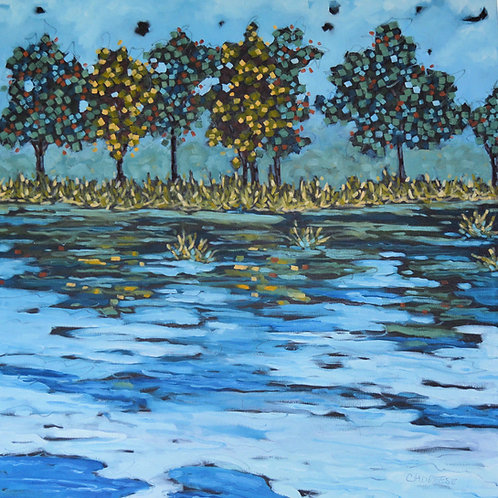 """Boundaries"" Original Oil Painting on Canvas"