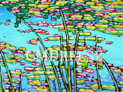 """Water Lilies"" Print"