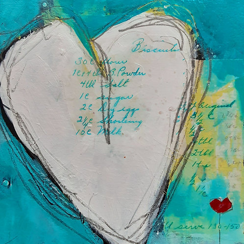 Spreading the Love Heart II Series Print