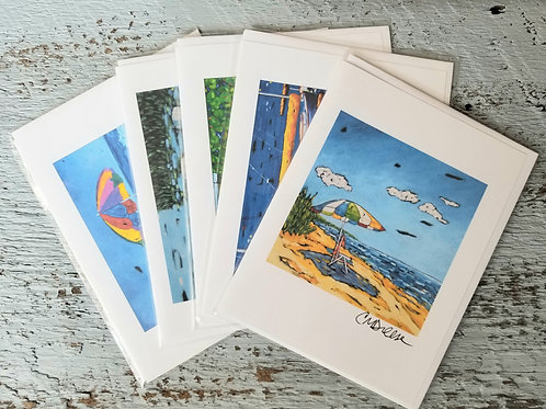 Summer Fun Notecards Signed by Christi Dreese