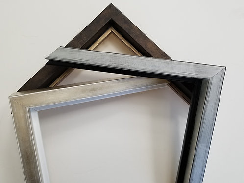 Contemporary Larson Juhl picture frames In Silver, Champagne and Dark Brown
