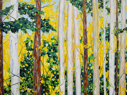 "Print ""Towering Pines"""